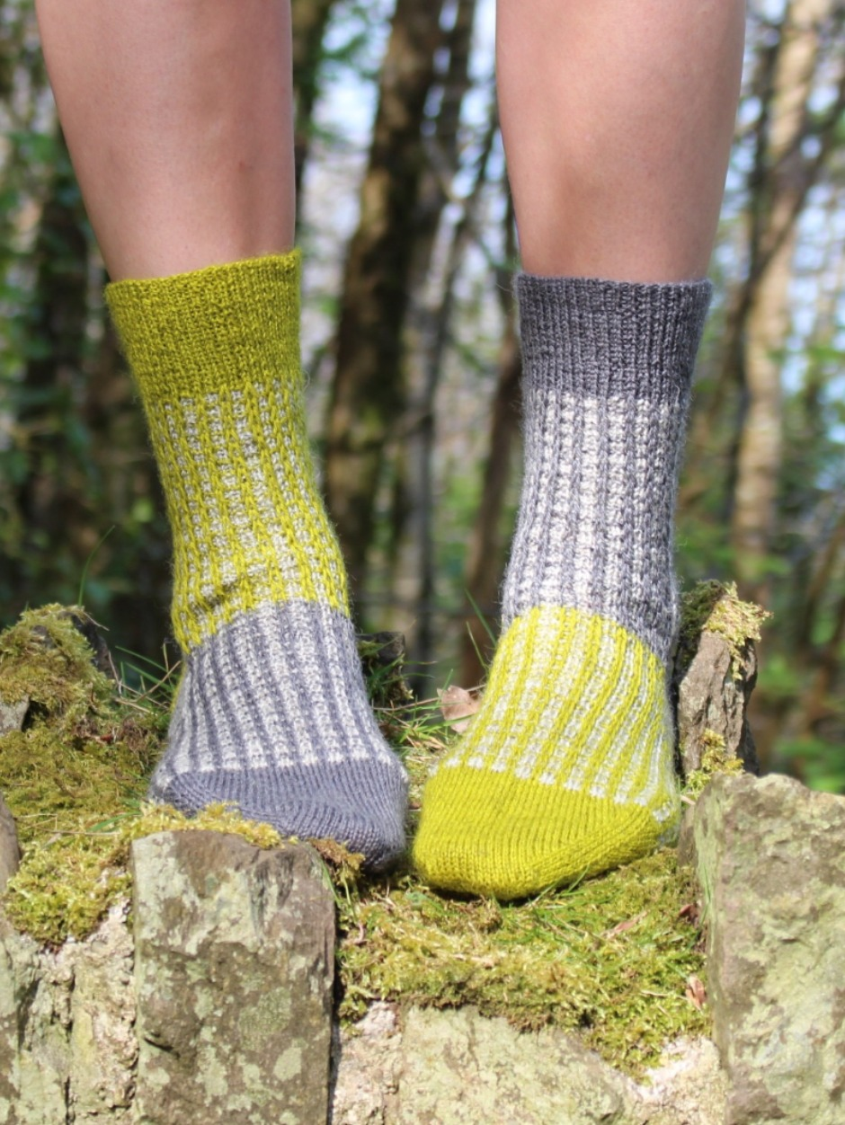 Gallivant Socks - by Francesca Hughes