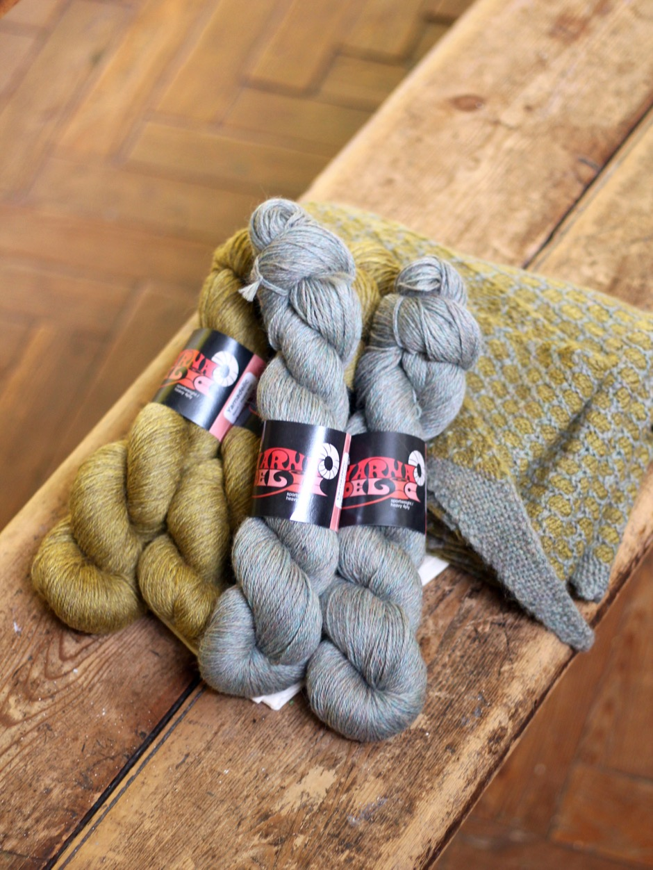Foreland Point Shawl Kit
