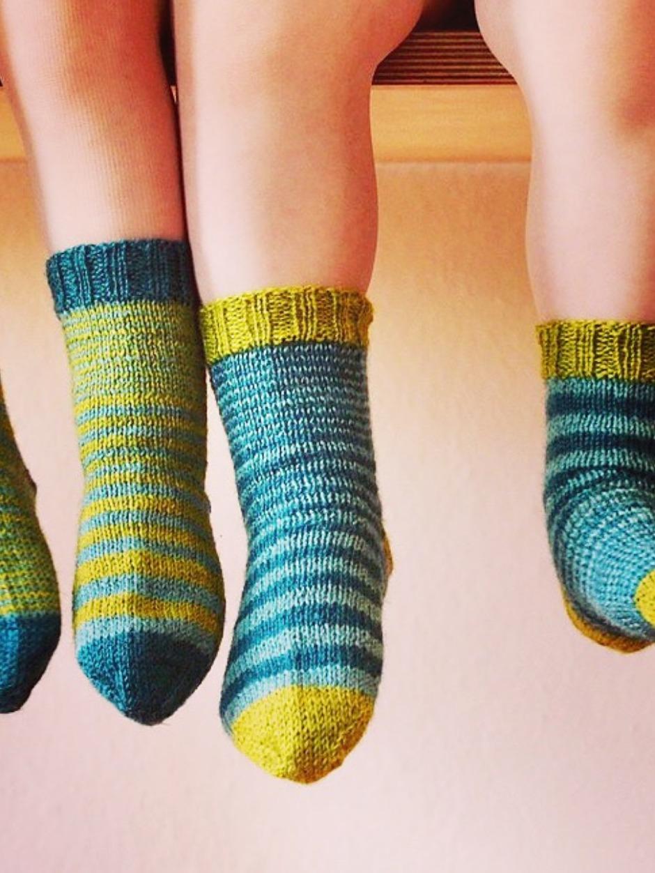 Eruca Socks - by Rebekka Mauser