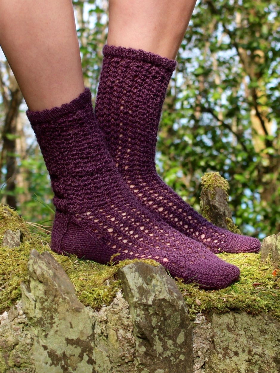 Lacey Socks - by Emily Foden