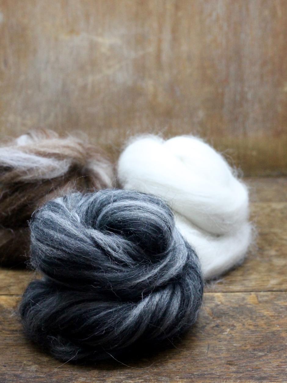 Alpaca / Polwarth Top