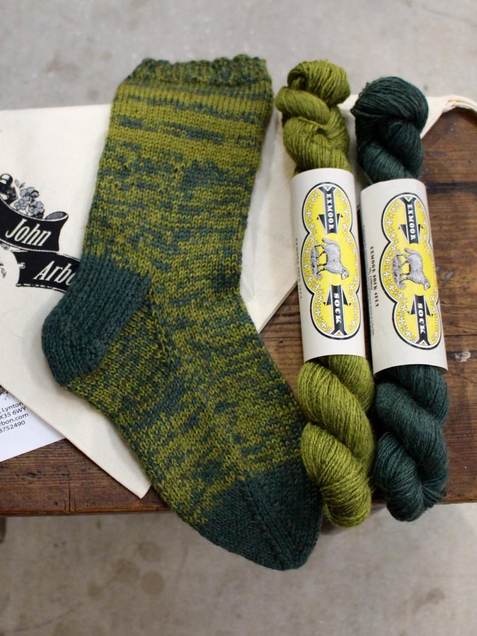 Exmoor Slipper Socks Kit