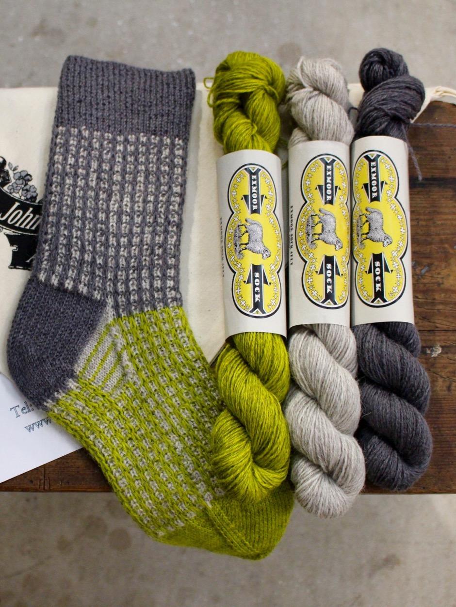 Gallivant Socks Kit