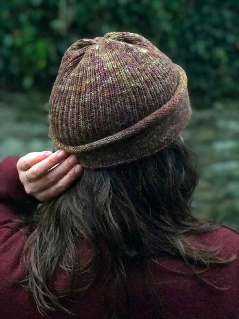 Hand Dyed Mill Cap - by Francesca Hughes