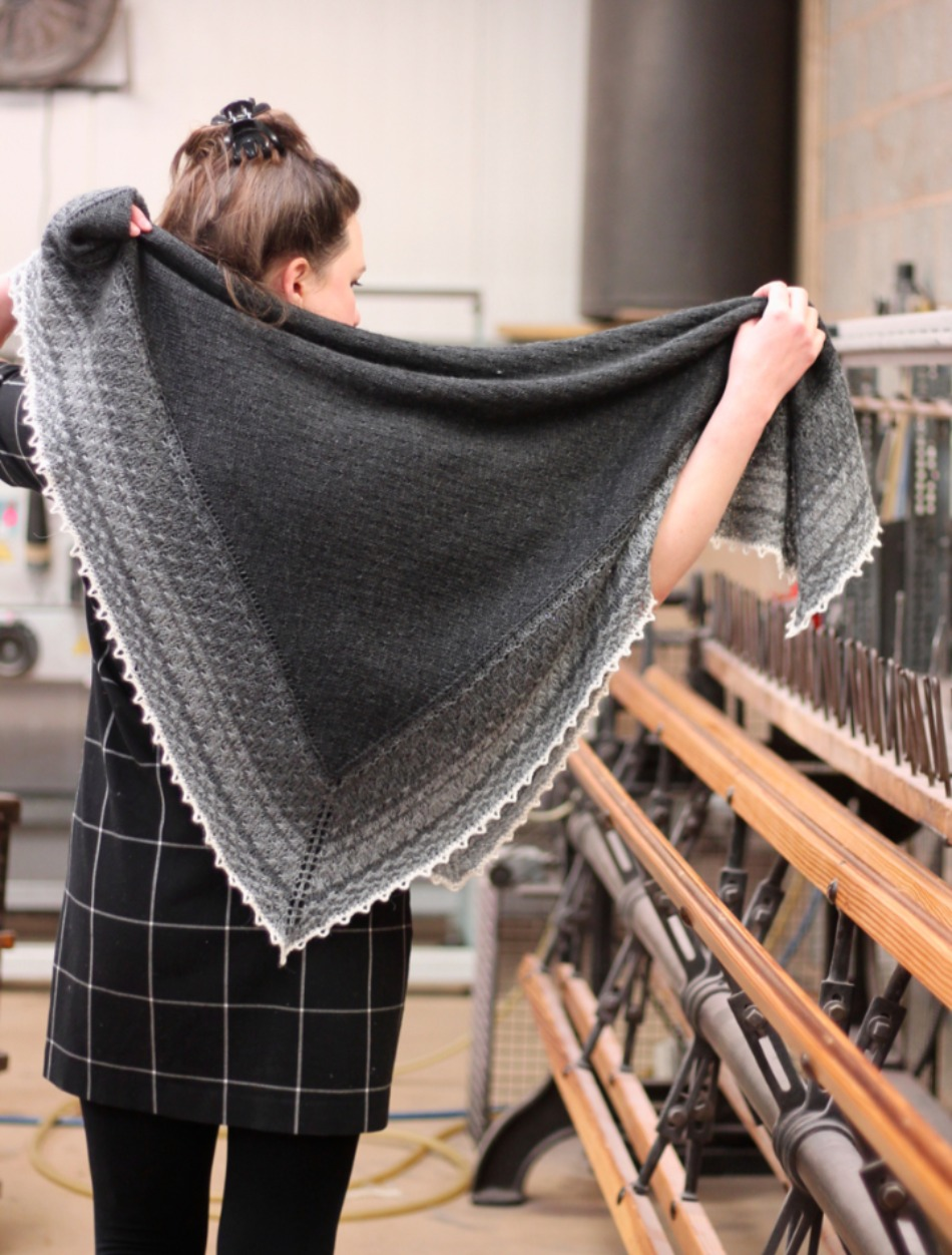 Stars in the Sky Shawl - by Emily Foden