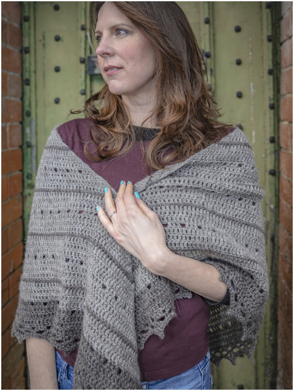 Grainbow Shawl - by Rosina Northcott