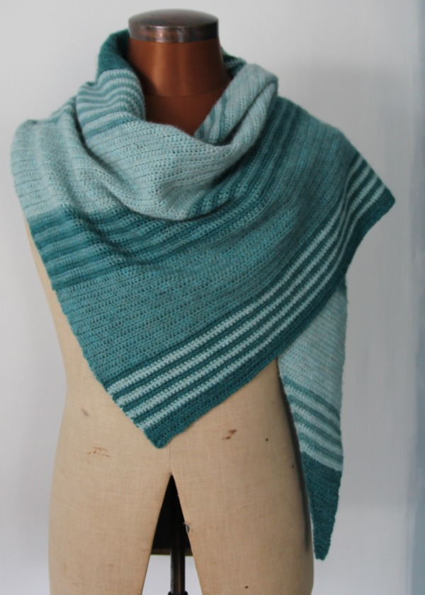 Loft 4ply Shawl - by Fay Dashper-Hughes
