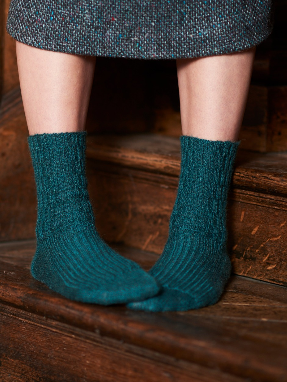 Chapman Socks - by Rachel Atkinson
