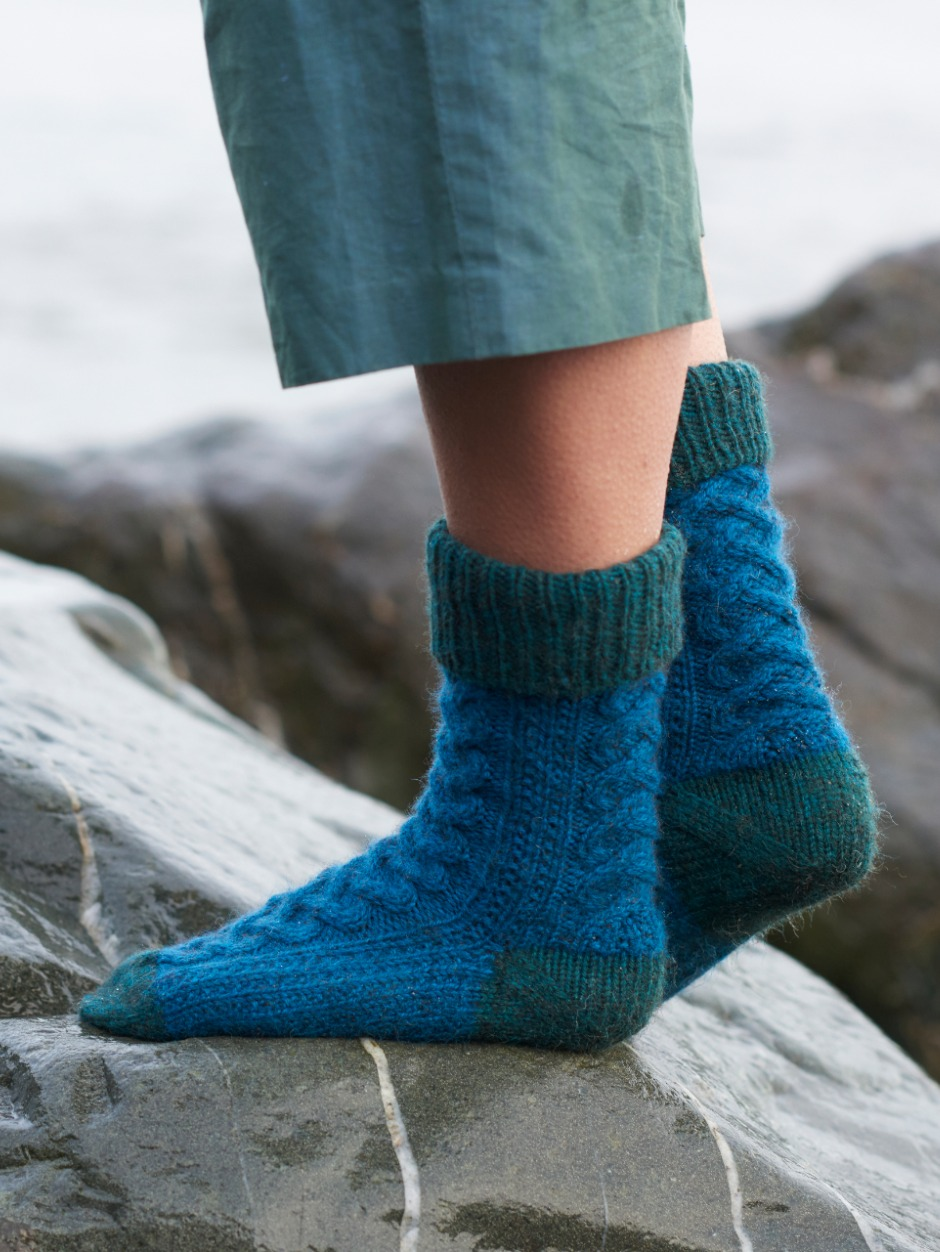 Wildner Top Socks - by Sonja Bargielowska