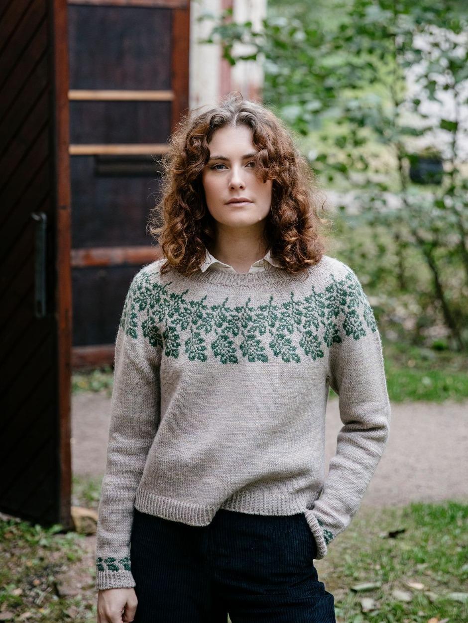 Lehto Jumper by Anna Johanna Kit