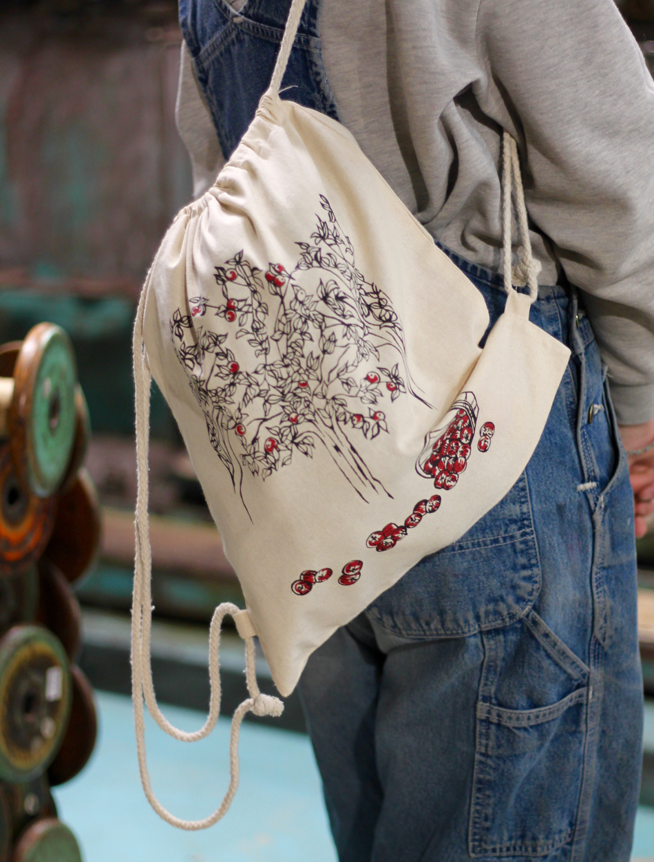 20th Anniversary Special - LML Textiles Apple Orchard Bag