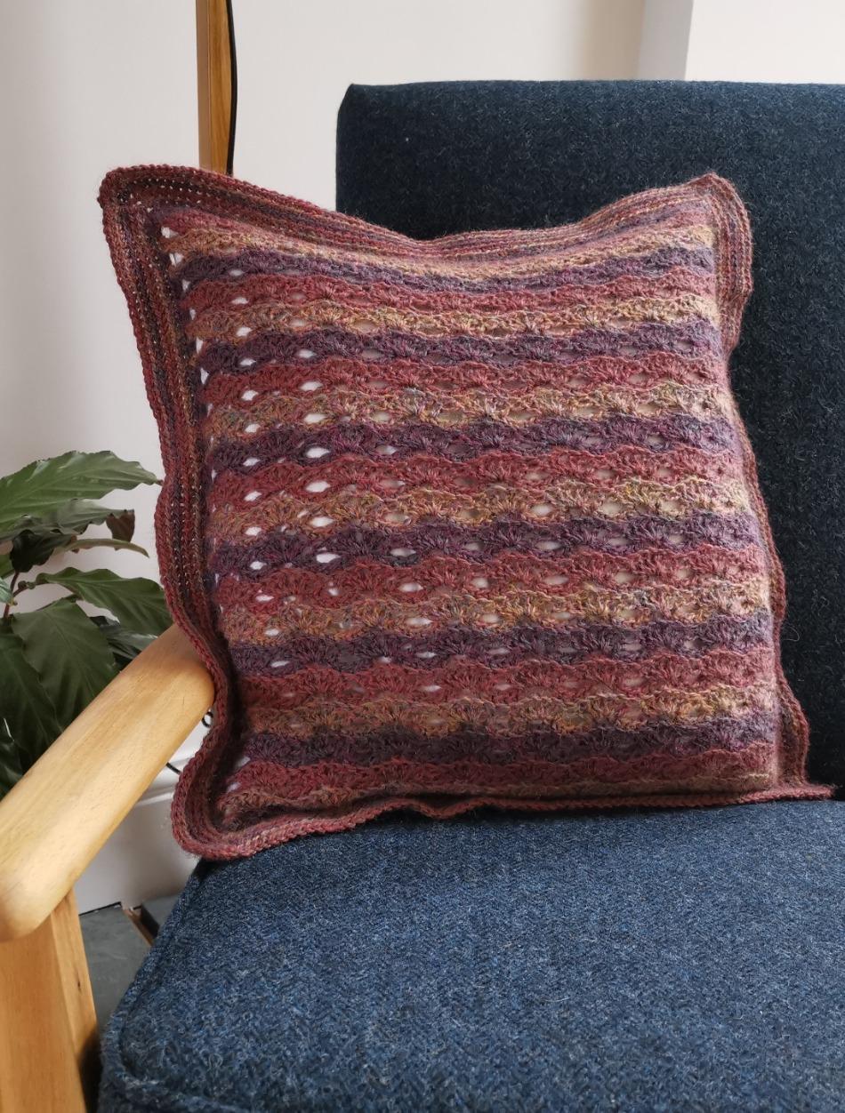 Bushel Cushion - by Fay Dashper-Hughes