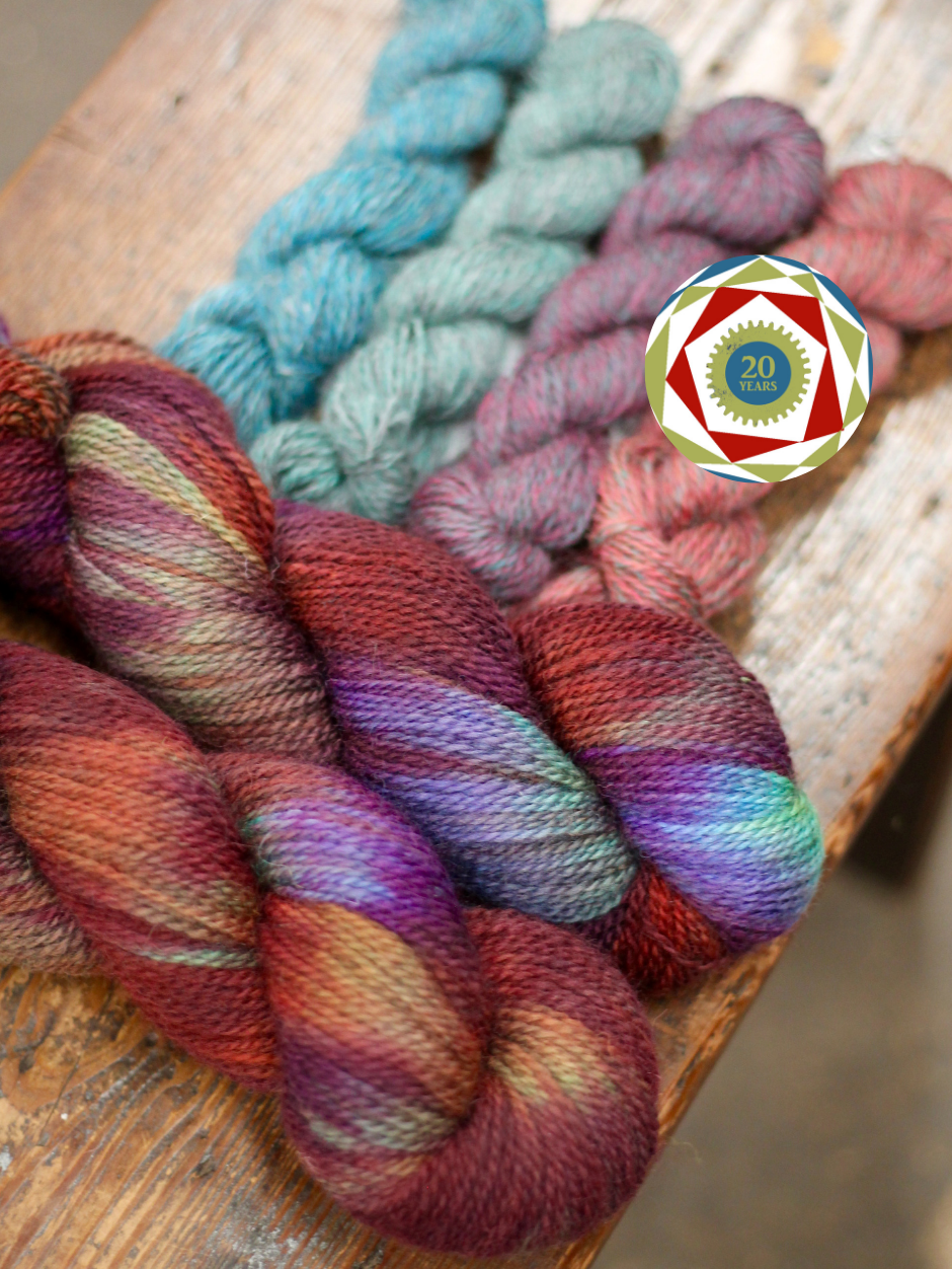 20th Anniversary Special - Hand Dyed Appledore DK Kits